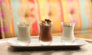 Café Blanc Abu Dhabi: AED 150 or 200 Toward Lebanese Food, Drink and Shisha at Café Blanc Abu Dhabi (Up to 51% Off)
