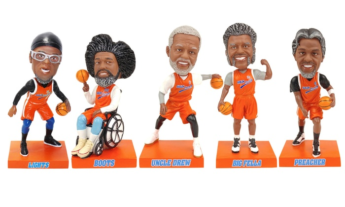 Officially Licensed Uncle Drew Movie Bobblehead Set 5 Piece