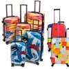 NeoCover Hardcase Luggage Set (Carry-on, 2-, or 3-Piece)