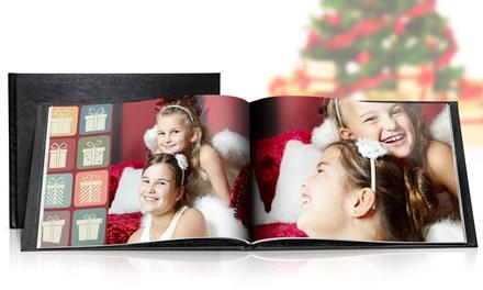 1 o 2 fotolibros formato A4 personalizado con cubierta de cuero de 100 páginas desde 19,95 € (88% de descuento)