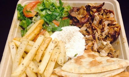 Diner Food at The Original Yeeros at Merritview (Up to 40% Off). Three Options Available.