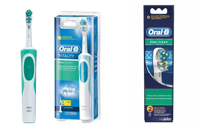 Brosse à dents Oral B Vitality   Groupon Shopping 36bbc84abd39