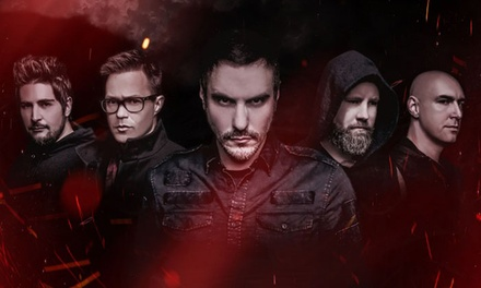 Breaking Benjamin w/ Chevelle, Three Days Grace, Dorothy, and Diamante on August 15 at 5:30 p.m.