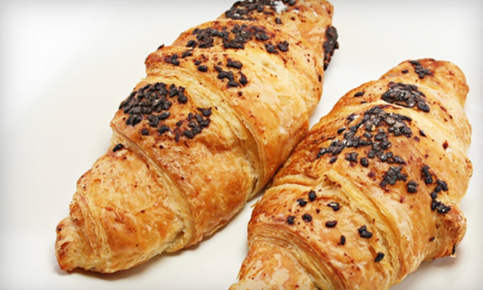 Maison Baguettes - Ottawa: One Dozen Fresh-Baked Chocolate Croissants, $10 for $20 Worth of Fresh Bread, or a Meal for Two at Maison Baguettes