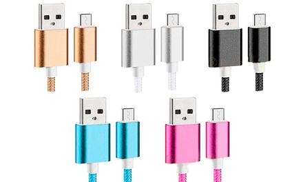 Cable universal de carga IOS & android en diferentes colores por 4,99 € (61% de descuento)