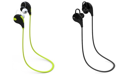 Laud Sports Sweat-Proof In-Ear Bluetooth Hook Earphones with Mic