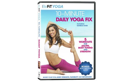 BeFit Yoga 10-Minute Daily Yoga Fix on DVD