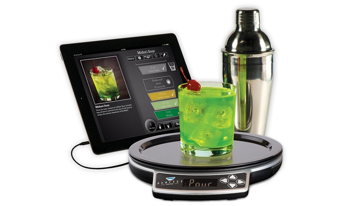 Cocktail app and weighing scales groupon goods for Perfect drink bluetooth scale