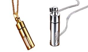 Collier bouteille parfum