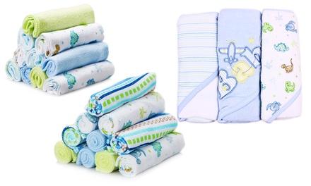 spasilk baby bath gift set 23p groupon goods. Black Bedroom Furniture Sets. Home Design Ideas