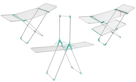 Stendibiancheria in alluminio Colombo New Scal disponibile in 3 modelli