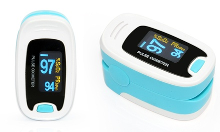 OLED Pulse Rate and SpO2 Fingertip Monitor
