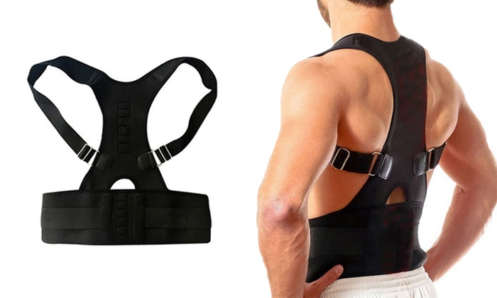 Heated Magnetic Posture Corrector with Lumbar Support for £6.98
