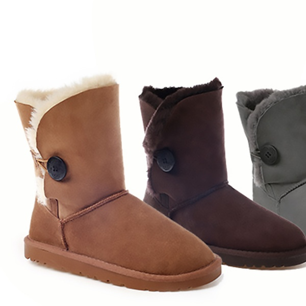 2be07d6b9b3 $99 OZWEAR Button UGG Boots in Choice of Colour and Size (Don't Pay $269)