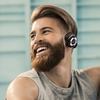 SoundBot SB220 Bluetooth Wireless Headphones with Built-In Microphone