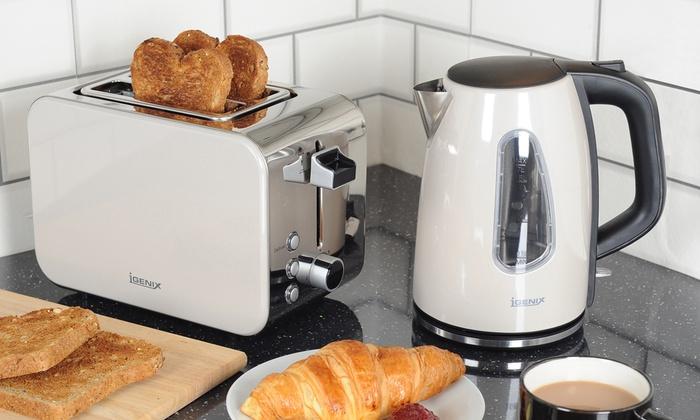 Igenix Kettle And Toaster Set Groupon Goods