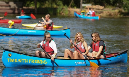 TwoHour Kayaking or Canoeing Experience for Two or Four from Active Nation