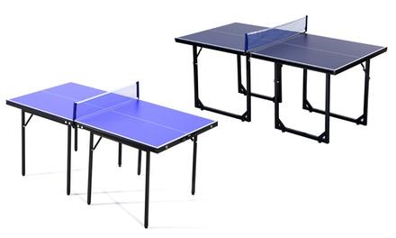 HOMCOM Mini Ping Pong Table