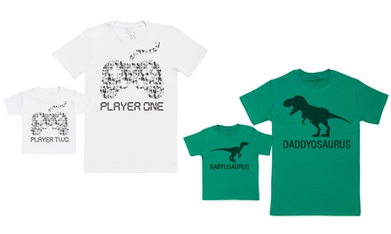 Father and Baby Matching T-Shirts