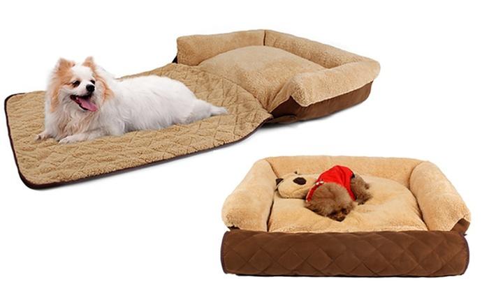 lit pour chiens groupon shopping. Black Bedroom Furniture Sets. Home Design Ideas