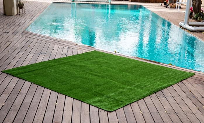 """דשא סינטטי איכותי בעובי 6 מ""""מ, ירוק כל השנה, ללא צורך באחזקה והשקיה, החל מ-59 ₪ בלבד, בהתאם לגודל"""