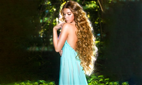 Organic Human Hair Extensions at Miami Makeup Artist and Hair Salon (Up to 71% Off). Two Options Available. fca4bc13-98be-4e39-b2b9-d534224febb7