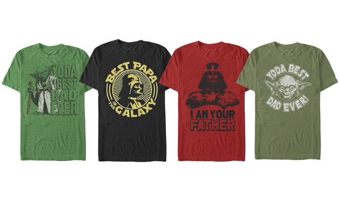 ca0a44dcb9fc7 Men s Licensed Star Wars Dad Tee (Extended Sizes Available)