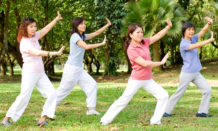 Autumn Moon Tai Chi Fitness - St. Cloud: 5 or 10 Qi Gong Classes at Autumn Moon Tai Chi Fitness (Up to 46% Off)