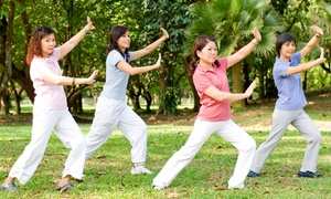 Autumn Moon Tai Chi Fitness: 5 or 10 Qi Gong Classes at Autumn Moon Tai Chi Fitness (Up to 46% Off)