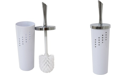 Modern-Style Toilet Brush and Brush Holder