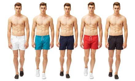$19 for a Pair of Men's Swim Shorts with Tailored or Elasticated Waistband