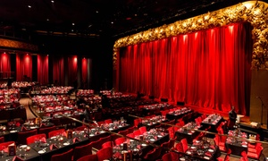 MusicHall: Music Hall Live Entertainment with Three-Course Dinner, Drinks and Private Seating on The Palm Jumeirah (Up to 28% Off)
