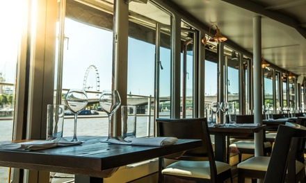 Two-Course Lunch for One or Two at The Yacht London (Up to 53% Off)