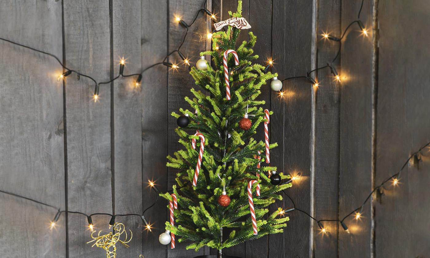 Artificial Potted Christmas Tree 80cm