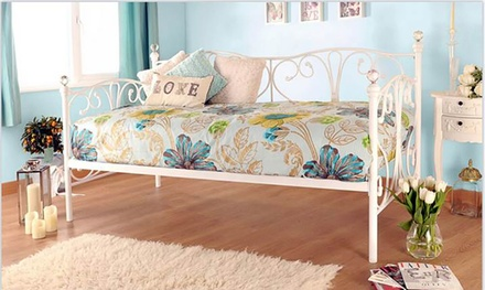 crystal day bed frame
