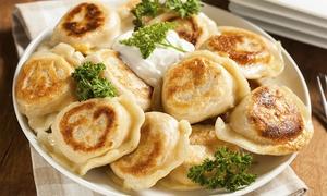 Biesiada: Gefüllte Piroggen, Suppe nach Wahl und Wodka für Zwei oder Vier im Restaurant Biesiada ab 14,90 €