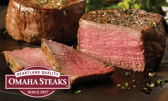 Omaha Steaks - Omaha Steaks: Valentine's Day Meat Packages from Omaha Steaks Stores (Up to 71% Off).  Available Same-Day.