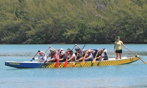 Puff Dragon Boat Team: Four Puff Paddler Dragon Boat Beginner Classes for One or Two at Puff Dragon Boat Team (40% Off)