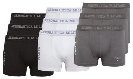 Pack de 3 boxers Aeronautica Militare
