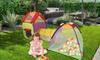 Kinderzelt mit Krabbeltunnel und Iglu