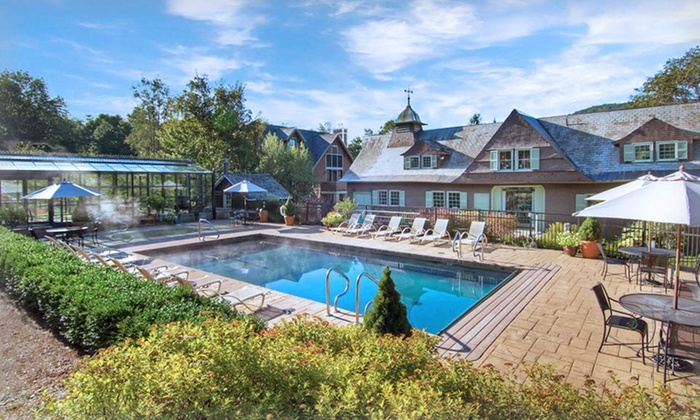The Pointe Hotel at Castle Hill Resort & Spa - The Pointe Hotel at Castle Hill Resort & Spa: Stay with Spa and Dining Credits at The Pointe Hotel at Castle Hill Resort in Ludlow, VT. Dates into October.