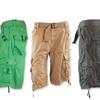 Seven Souls Men's Belted Cargo Shorts