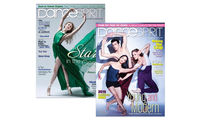 1-Year, 10-Issue Subscription to Dance Spirit Magazine