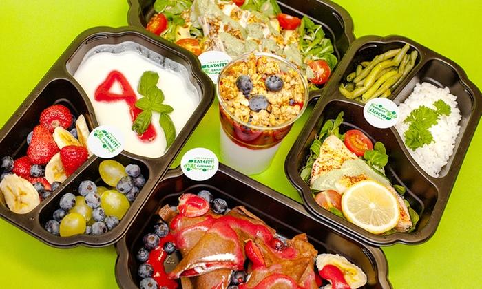 Catering dietetyczny: wybrana dieta na 5 dni od 159,99 zł i więcej opcji w Eat4Fit