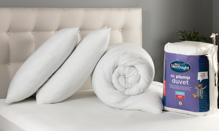 Silentnight So Plump Duvet and Two Pillows Set in Choice of Size