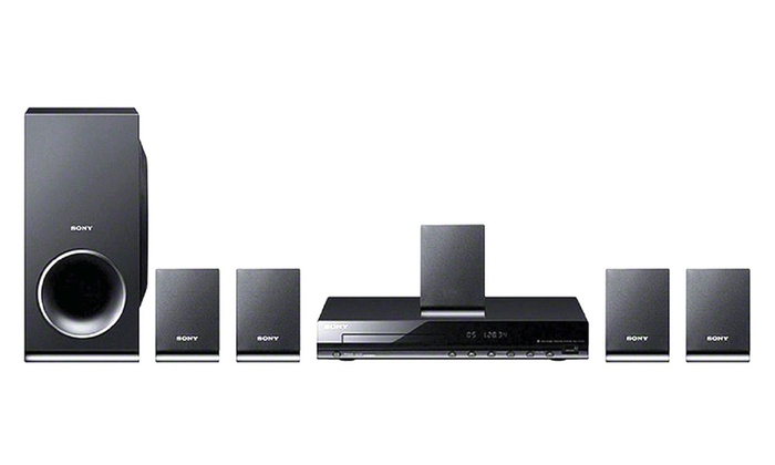 Sony DVD or Blu-ray 5.1-Channel Home-Theater System (Refurbished)