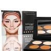 BellaPierre Cosmetics Contour & Highlight Palette with Kabuki Brush