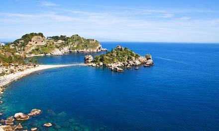 Sicilia, Taormina: camera doppia/matrimoniale con colazione Panorama di Sicilia