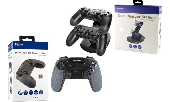 Base ricarica e joypad PS4 Xtreme