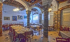 Il Capitello Srls: Menu di pesce o carne da 4 portate con calice di vino per 2 o 4 persone al Capitello (sconto fino a 62%)